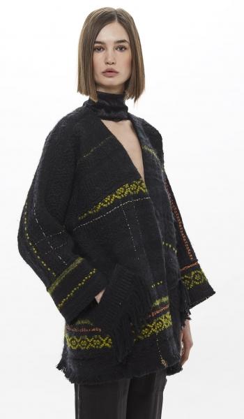 Kimono corto tessuto a mano CANGIARI